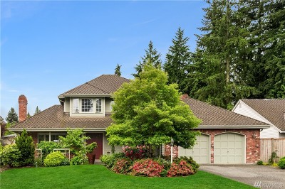 Kirkland Single Family Home For Sale: 12637 68th Place