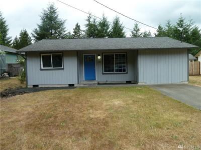 Mason County Single Family Home Pending Inspection: 110 E Evergreen