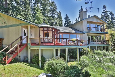 Freeland Single Family Home Sold: 4580 Smugglers Cove Rd