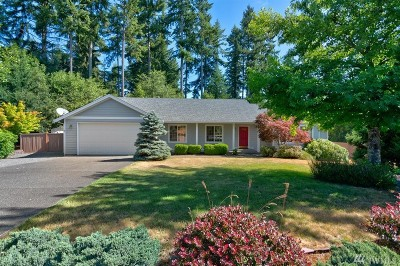 Gig Harbor Single Family Home For Sale: 1105 139th St NW