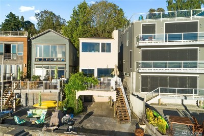 Seattle Single Family Home For Sale: 6019 Beach Dr SW