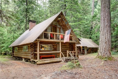 Single Family Home Sold: 141 Silver Springs - Usfs Cabin