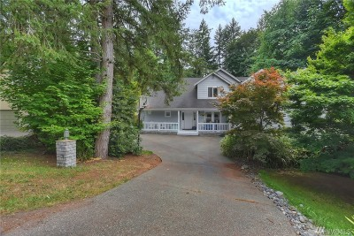 Bainbridge Island Single Family Home Pending: 8277 NE New Holland Ct