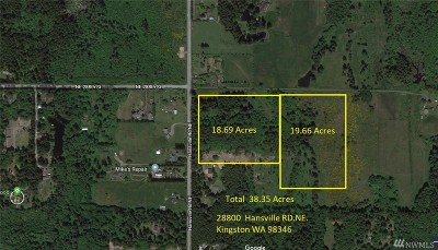Residential Lots & Land For Sale: 28800 Hansville Rd NE