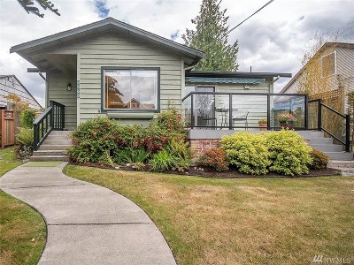 Seattle Single Family Home For Sale: 8068 Earl Ave NW
