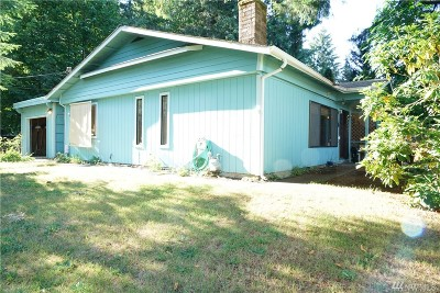 Olympia Single Family Home For Sale: 7333 Lakeside St SW