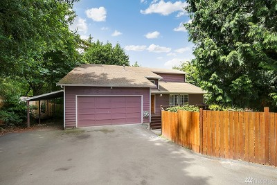 Kenmore Single Family Home For Sale: 15839 84th Ave NE