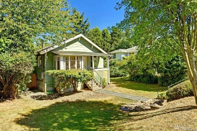 Seattle Single Family Home For Sale: 4720 49th Ave S