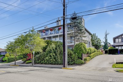 Edmonds Condo/Townhouse For Sale: 221 3rd Ave S #7