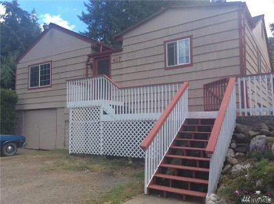 Shelton WA Single Family Home For Sale: $264,900
