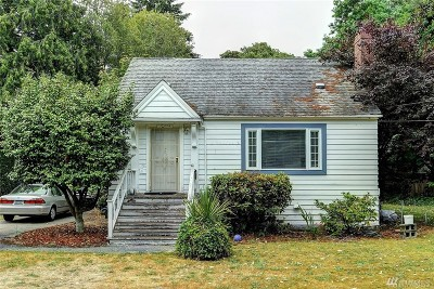 Seattle Single Family Home For Sale: 12444 10th Ave S