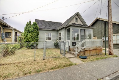 Bellingham WA Single Family Home For Sale: $215,000