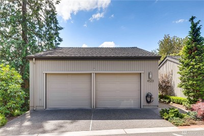 Kirkland Condo/Townhouse For Sale: 4523 102nd Lane NE
