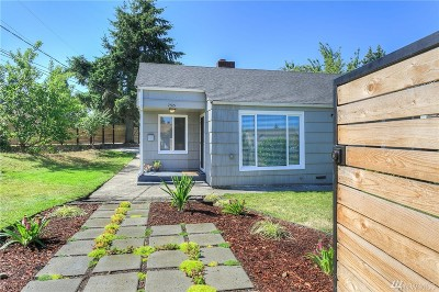 Seattle Single Family Home For Sale: 7315 S 115th St