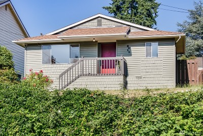 Seattle Single Family Home For Sale: 3411 35th Ave S