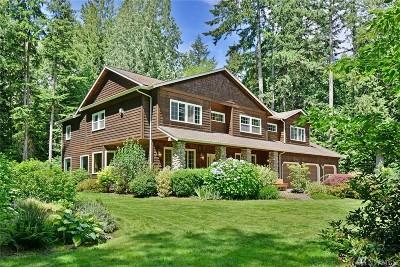 Bainbridge Island Single Family Home For Sale: 12615 Kallgren Rd NE