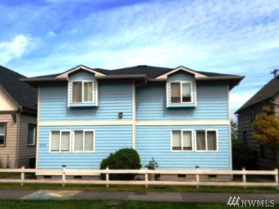 Everett Multi Family Home For Sale: 2519 Wetmore Ave