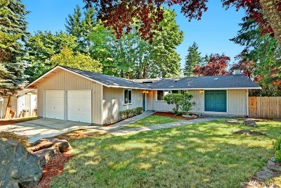 Bellevue Single Family Home For Sale: 1703 172nd Ct NE