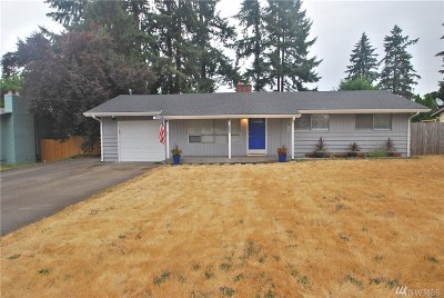 Spanaway Single Family Home For Sale: 409 167th St S