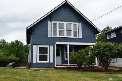 Chehalis Single Family Home For Sale: 657 SW Chehalis Ave