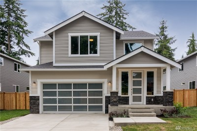 Shoreline Single Family Home For Sale: 15206 Dayton Ave N
