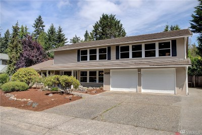 King County Single Family Home For Sale: 4326 182nd Place SE
