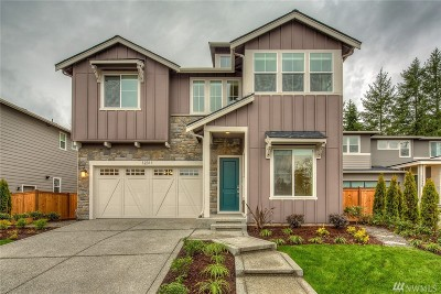 Redmond Single Family Home For Sale: 17460 NE 122nd (Homesite 15) St