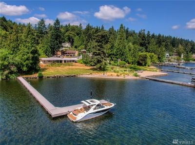 Mercer Island Single Family Home For Sale: 6610 E Mercer Wy