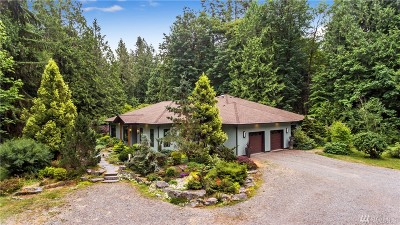 Olympia Single Family Home For Sale: 3645 Sunset Beach Dr NW