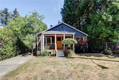 Seattle Single Family Home For Sale: 3710 NE 137th St