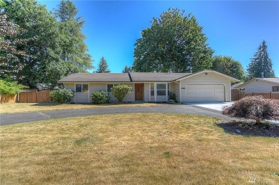 Thurston County Single Family Home For Sale: 2615 51st Ave SE