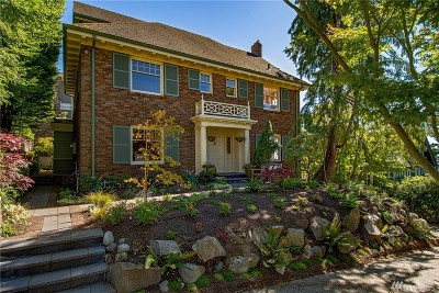 Seattle Single Family Home For Sale: 709 W Garfield St