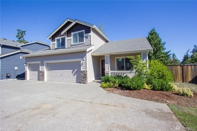 Spanaway Single Family Home For Sale: 6625 207th St Ct E