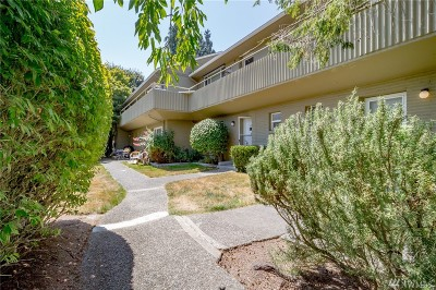 Seattle Condo/Townhouse For Sale: 4835 Terrace Dr NE #E4835