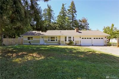 Port Orchard Single Family Home For Sale: 4489 SE Horstman Rd