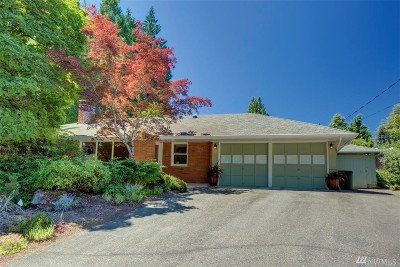 Bellevue Single Family Home For Sale: 115 110th Place SE