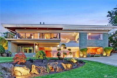 Seattle Single Family Home For Sale: 5817 Seward Park Ave