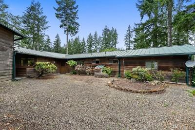 Mason County Single Family Home For Sale: 61 E Manzanita Ct