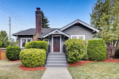 Tacoma Single Family Home For Sale: 2104 N Puget Sound Ave