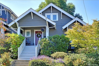Seattle Single Family Home For Sale: 2335 N 60th St