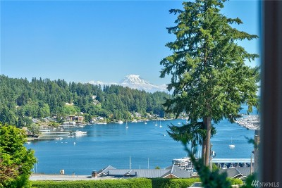 Gig Harbor Single Family Home For Sale: 3912 Bay View Lane