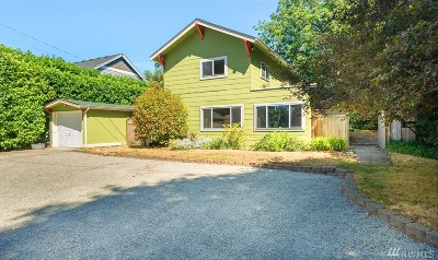 Tacoma Single Family Home For Sale: 4711 N 38th St