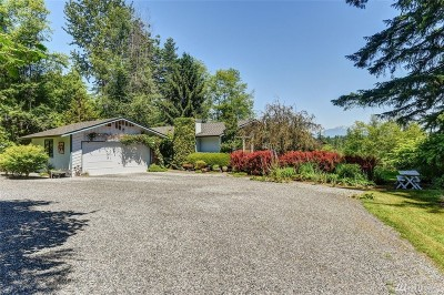 Snohomish Single Family Home For Sale: 9011 W Meadow Lake Dr