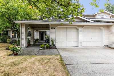 Bellevue Single Family Home Contingent: 6612 113th Place SE