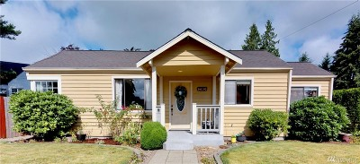 Everett Single Family Home For Sale: 6630 Olympic Dr SE
