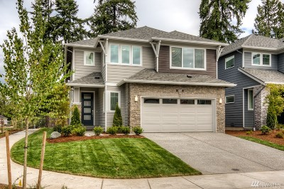 Bothell Single Family Home For Sale: 19726 11th Dr SE #Lot16