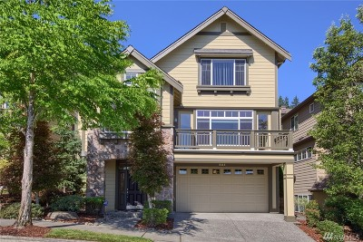Issaquah Single Family Home For Sale: 851 Bear Ridge Dr NW