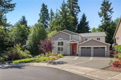 Pierce County Single Family Home For Sale: 3604 118th St Ct NW