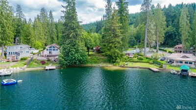 Snohomish Single Family Home For Sale: 24123 S Lake Roesiger Rd