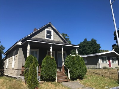 Tacoma Single Family Home For Sale: 2110 S Wilkeson St